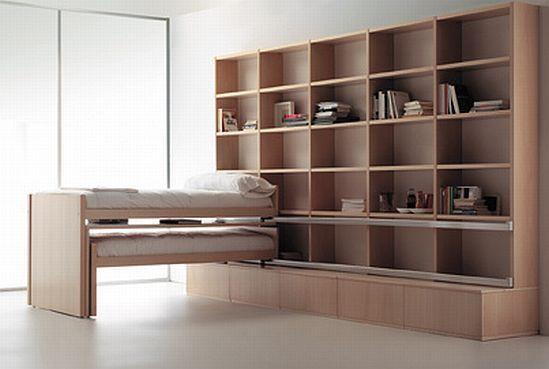 Однотонный мебельный гарнитур в гостиной