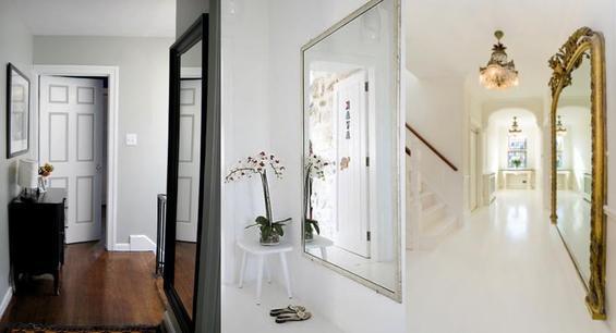 Зеркала в коридоре