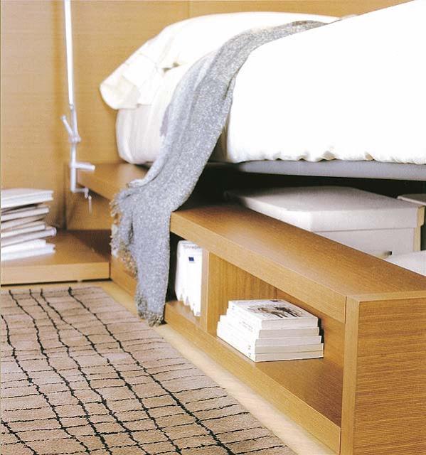 Полки под кроватью