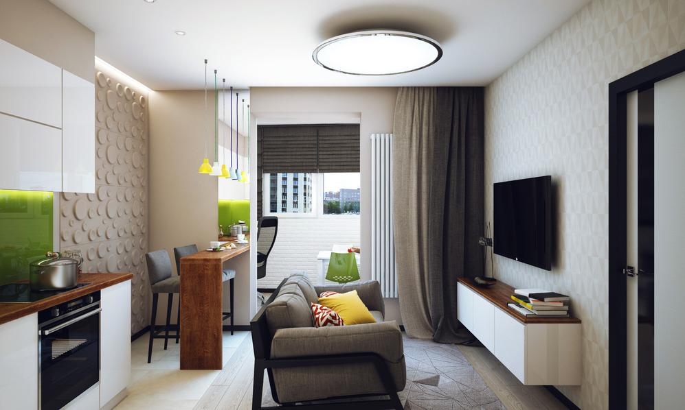 Интерьер студенческой квартиры в Новосибирске