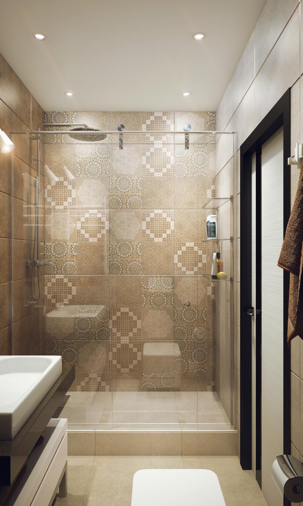 Ванная студенческой квартиры в Новосибирске