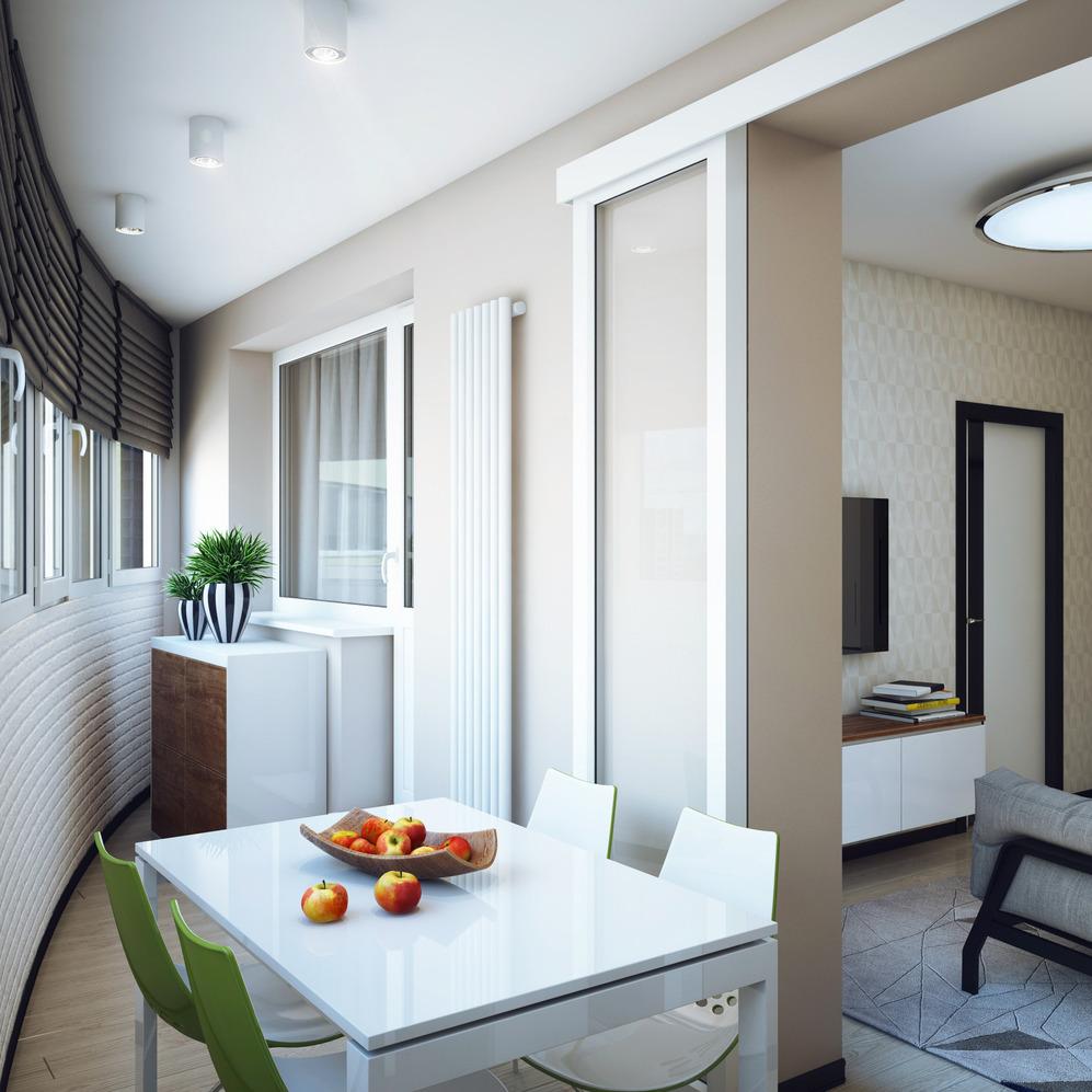 Столовая студенческой квартиры в Новосибирске