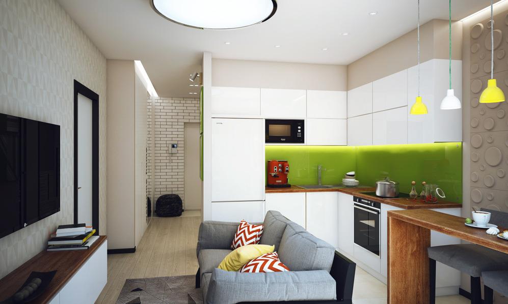 Фото дизайн кухня гостиная 10 м