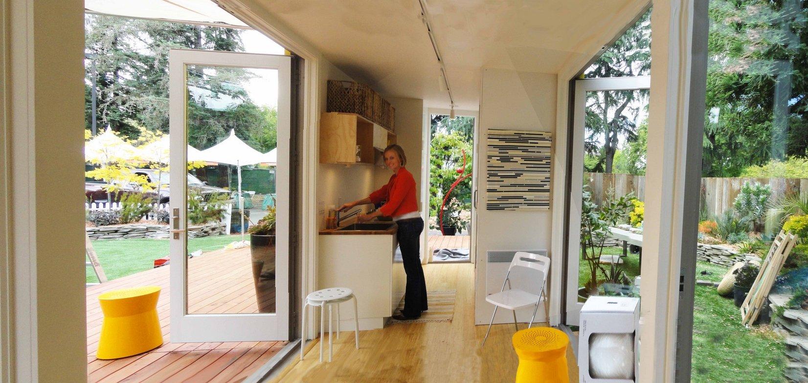 Cовременный дом из контейнеров: интерьер жилья