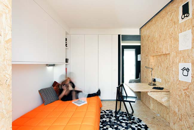Интерьер маленькой квартиры от UMI Collective