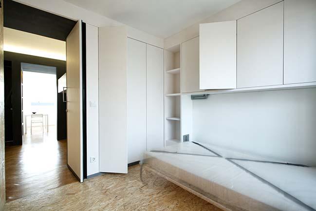 Раскладная мебель в интерьере маленькой квартире