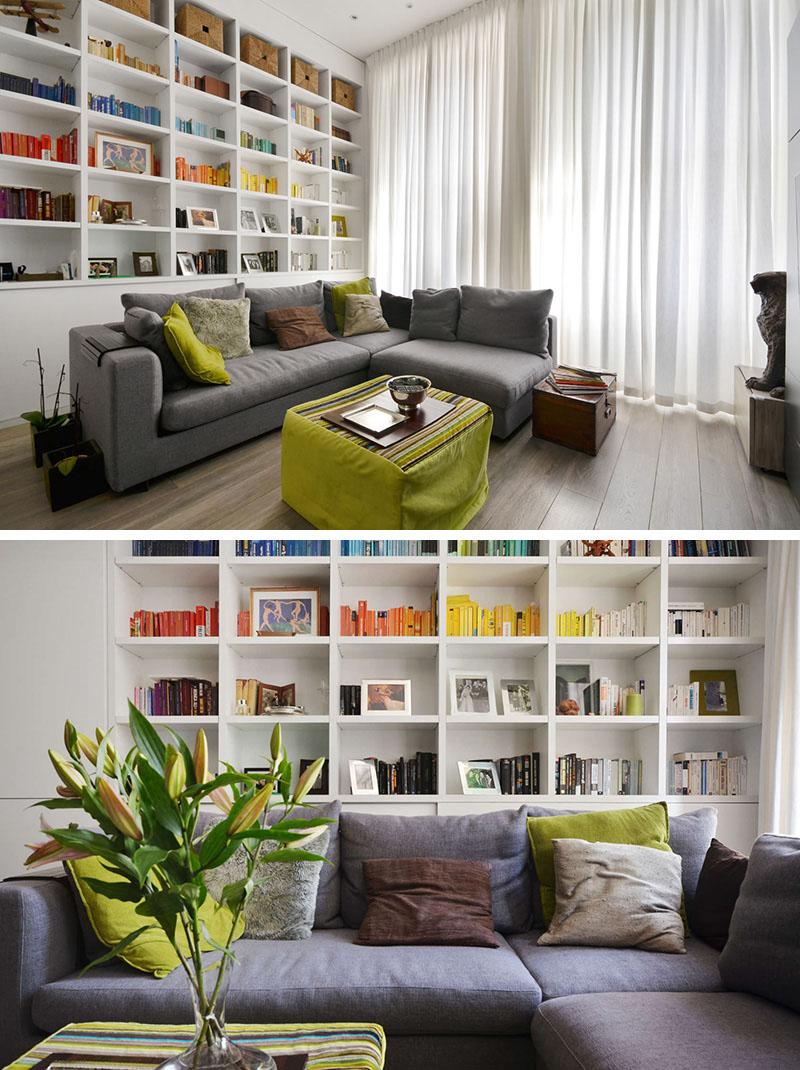 Системы хранения в современном интерьере небольшой квартиры