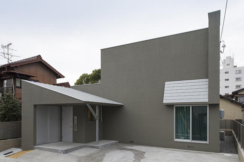 Современный маленький дом в Японии