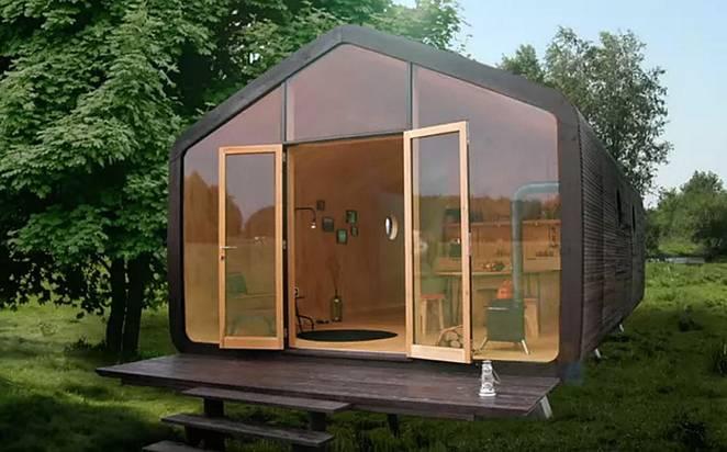 Проект маленького жилого дома