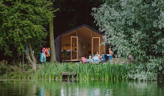 Проект маленького жилого дома. Идиллия загородной жизни