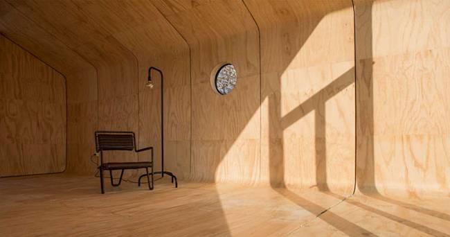 Проект маленького жилого дома без лишних деталей