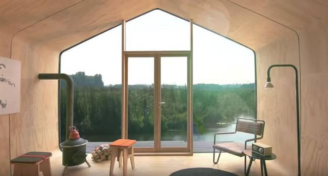 Современный проект маленького жилого дома