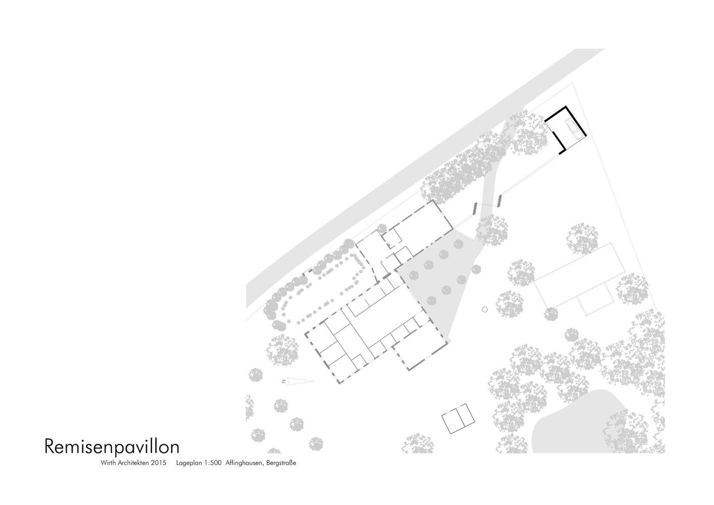 Современный сарай на плане приусадебного участка
