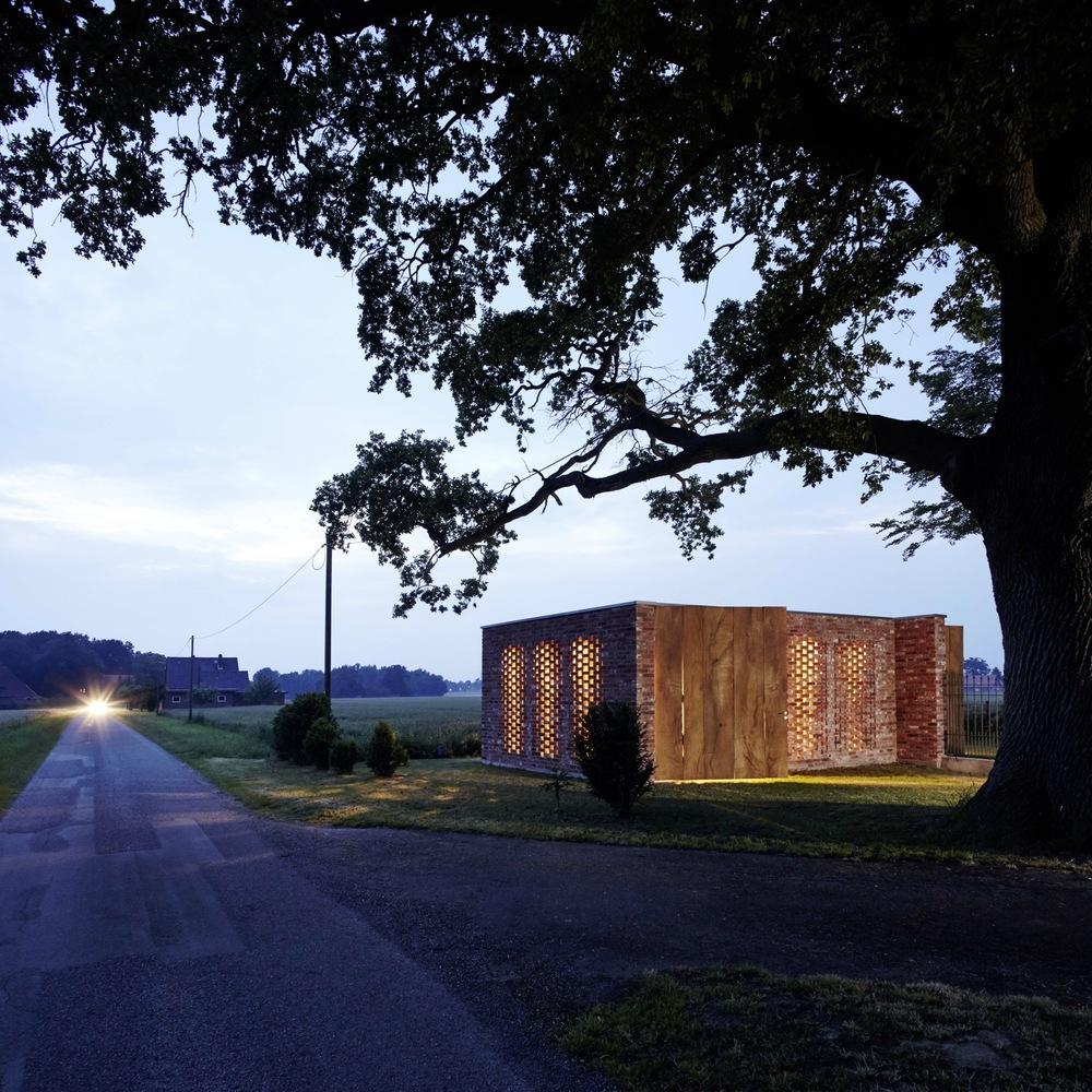 Современный сарай Remisenpavillon