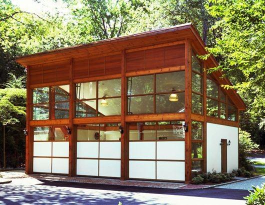 Прозрачные гаражные ворота