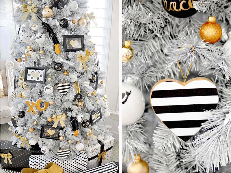 Яркое и современное рождественское украшение - фото 2