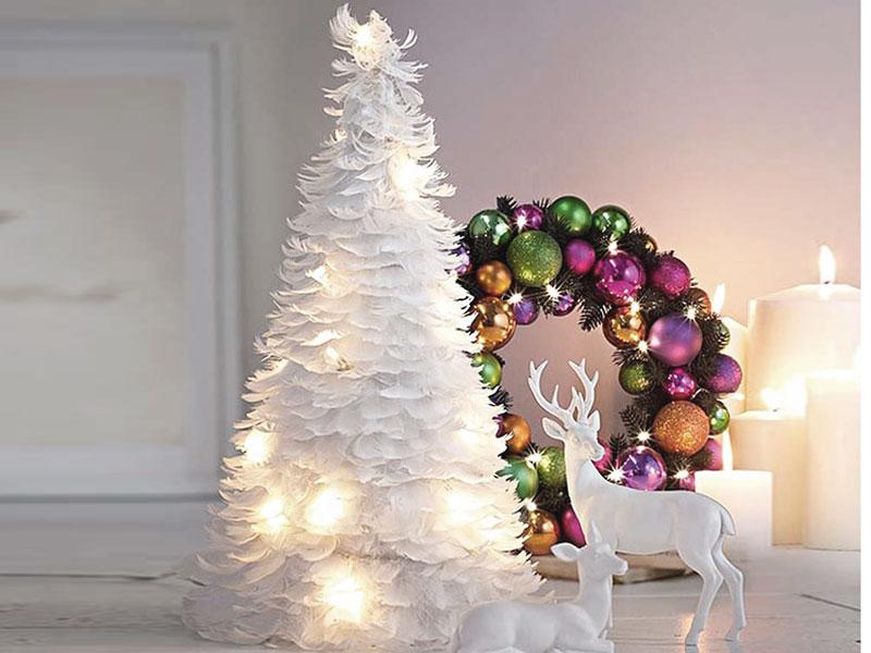 Яркое и современное рождественское украшение - фото 7