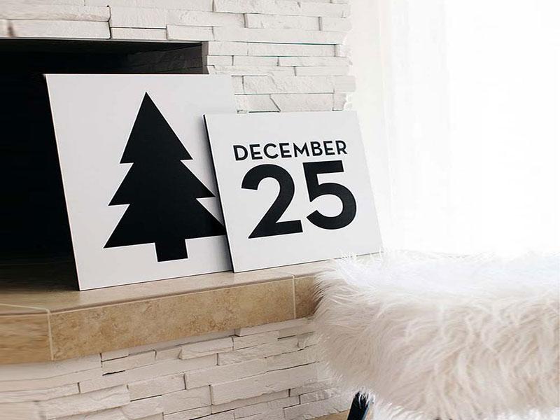 Яркое и современное рождественское украшение - фото 4