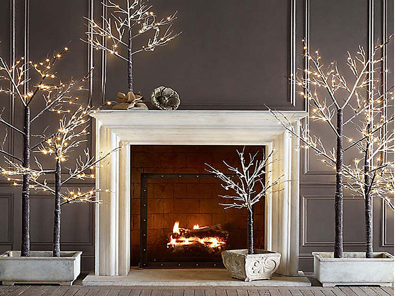 Яркое и современное рождественское украшение