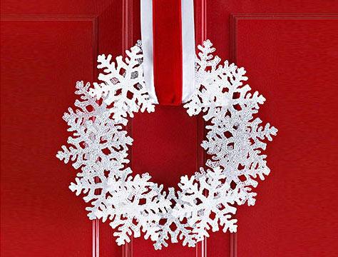 Яркое и современное рождественское украшение - фото 22