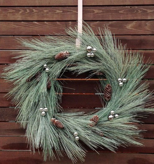 Яркое и современное рождественское украшение - фото 18