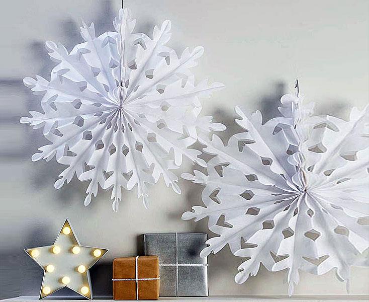 Яркое и современное рождественское украшение - фото 21