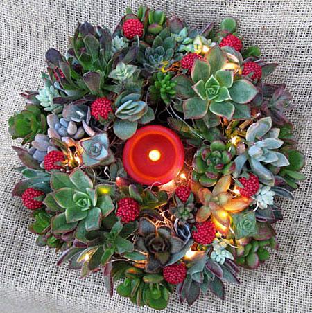 Яркое и современное рождественское украшение - фото 16