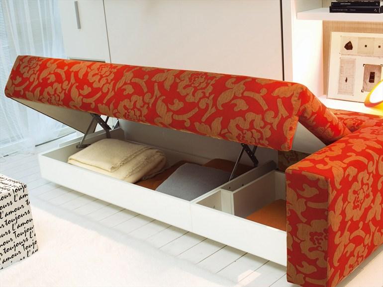 Раскладная кровать Murphy с нишей для белья