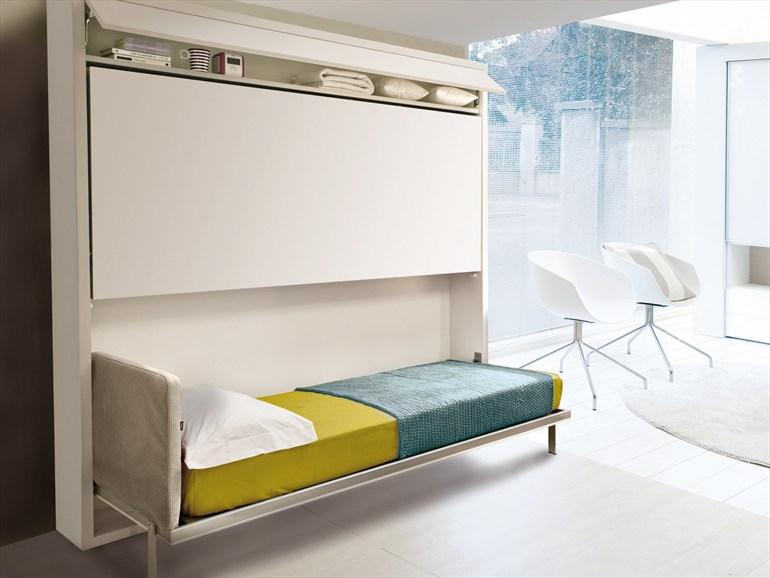 Двухъярусная кровать Murphy в интерьере