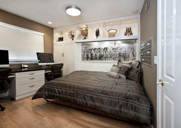 Раскладная кровать Murphy в спальне
