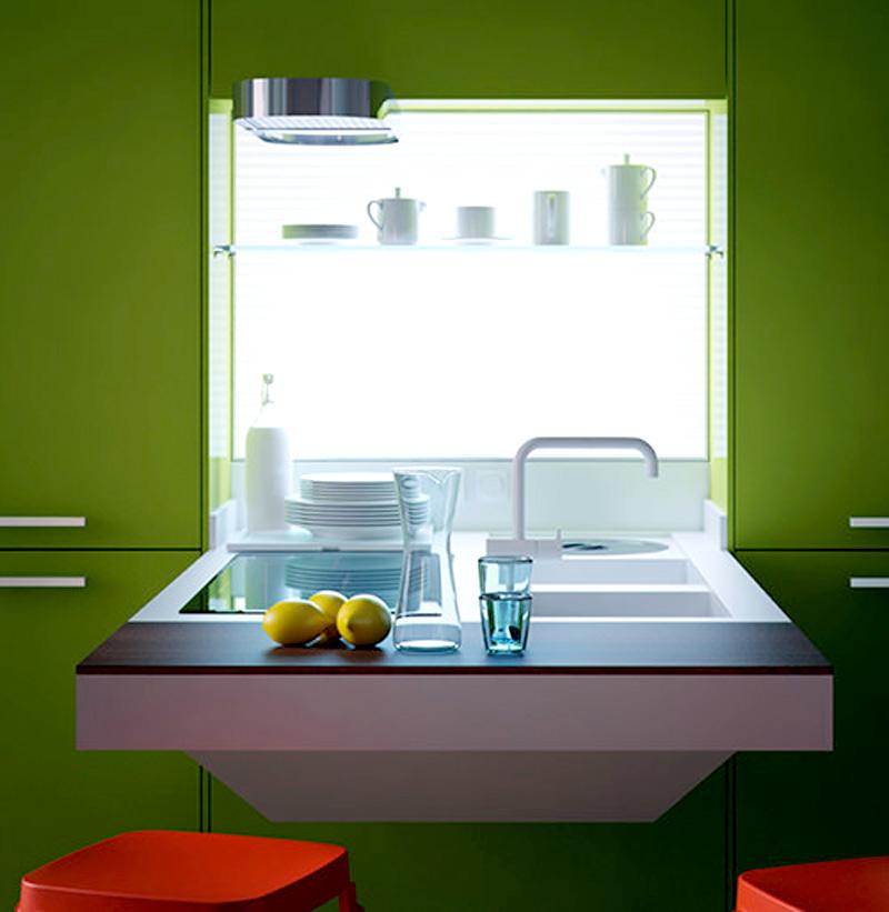 Компактная кухонная поверхность