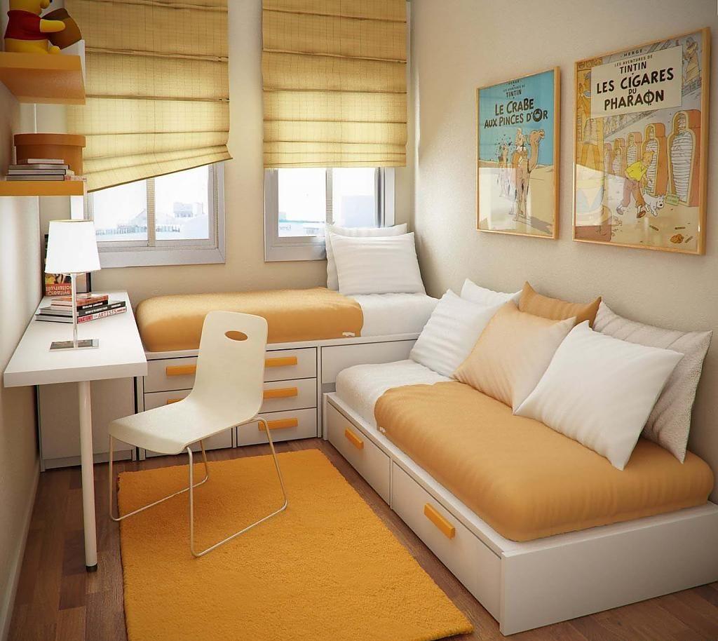 Компактные спальные места в детской