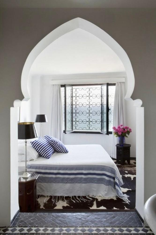 Спальня с аркой