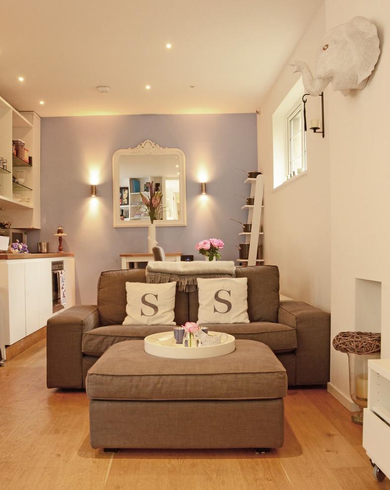 Компактная мебель в небольшой гостиной