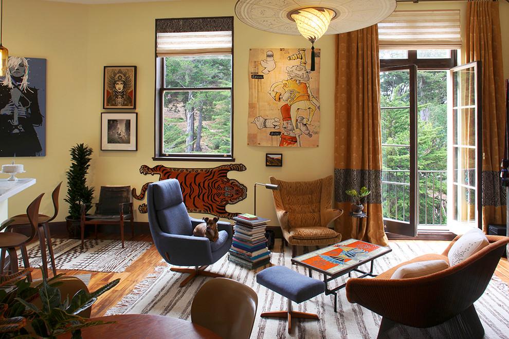 Мягкие кресла в гостиной