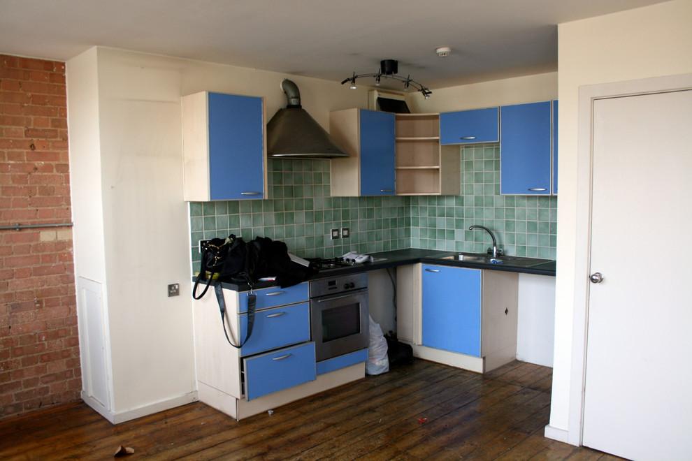 Кухня маленькой квартиры до ремонта