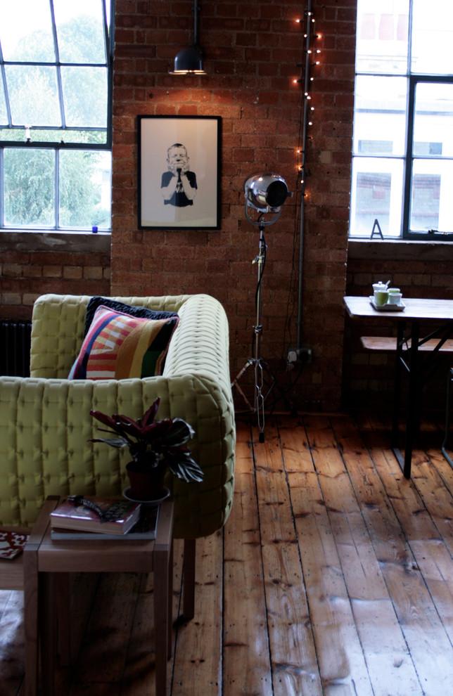 Освещение в маленькой квартире в Лондоне