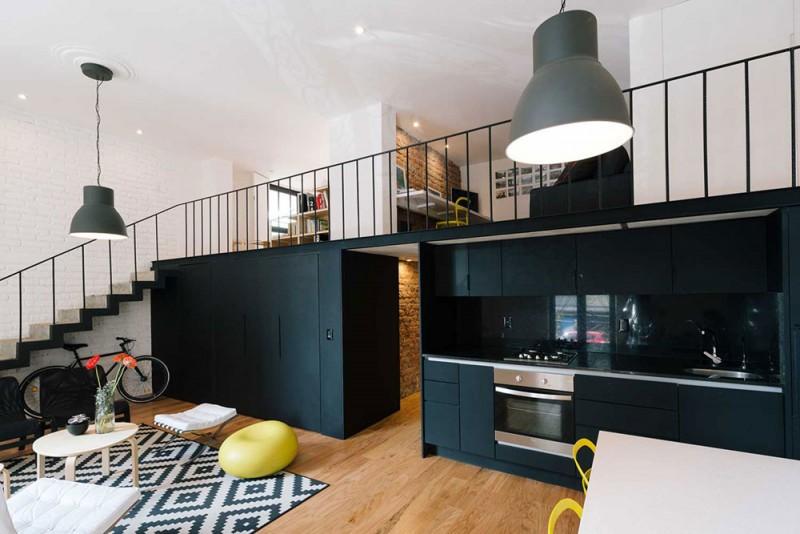 Красивый интерьер маленькой однокомнатной квартиры