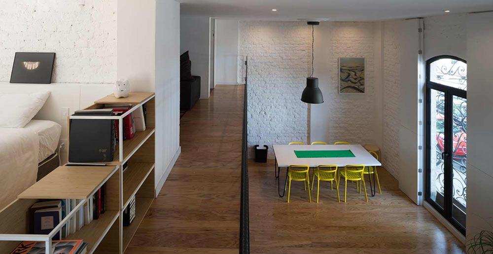 Правильное зонирование в маленькой однокомнатной квартире