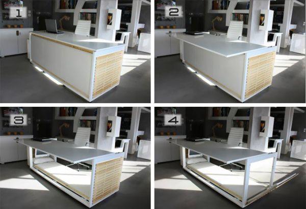 Стол-кровать трансформер от Athanasia Leivaditou