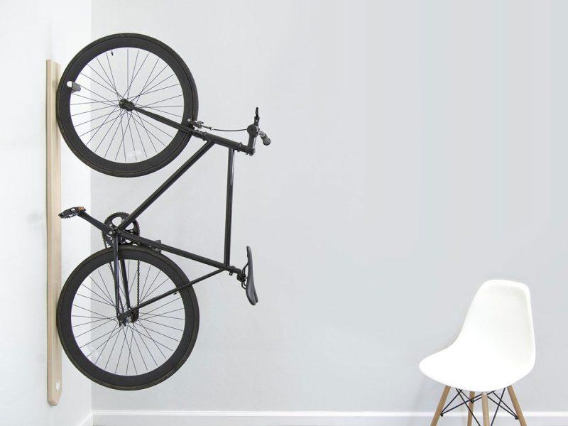 Стойка для велосипеда в интерьере