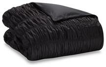 Тёмно-серое одеяло