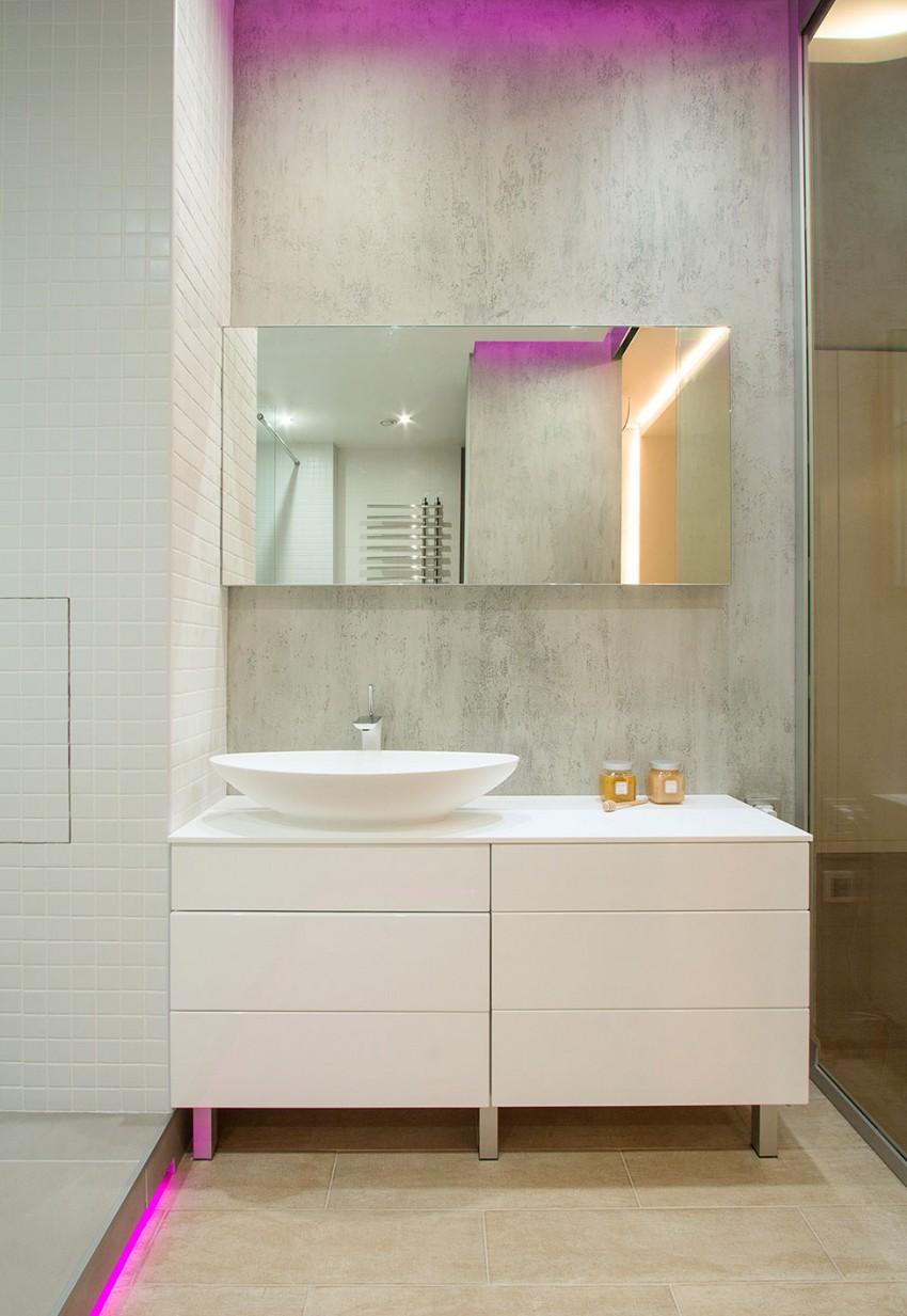 Интерьер современной однокомнатной квартиры