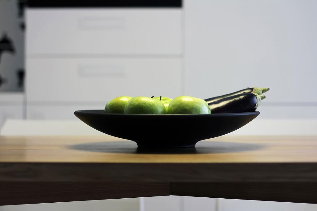 Студия в скандинавском стиле с элементами минимализма