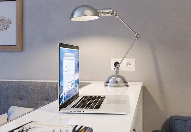 Светильник на рабочем месте