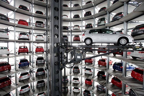 Автовышка в Вольфсбурге, Германия