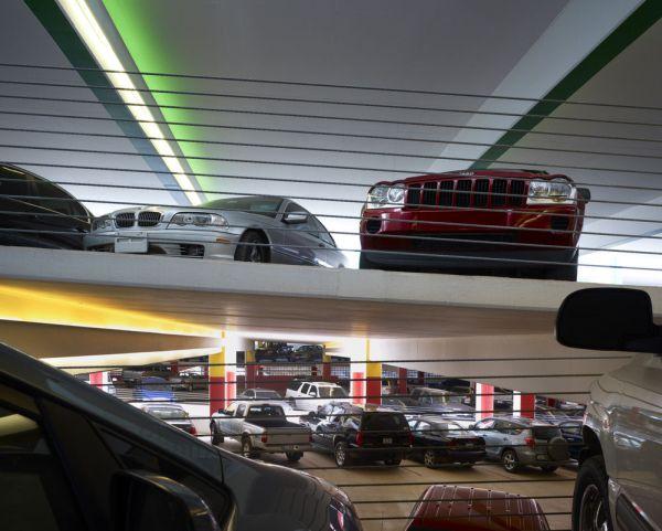 Автостоянка «Один» в Оклахома–Сити