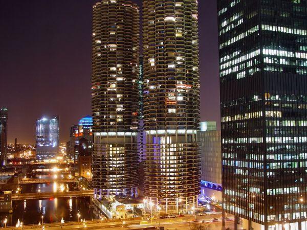 Марина Сити, Чикаго