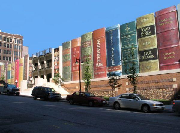 Сообщество Канзас-Сити, книжная полка публичной библиотеки