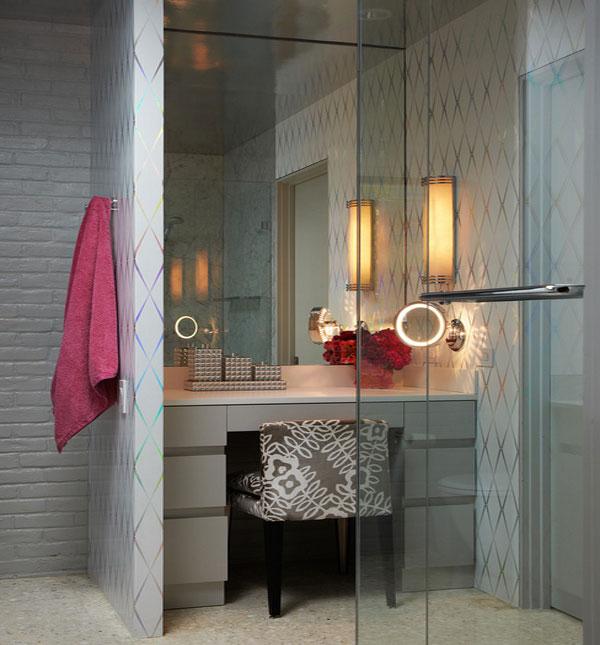 Женский будуар в ванной